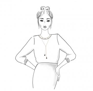 02 necklaces stella_polly_gold grey_sketch