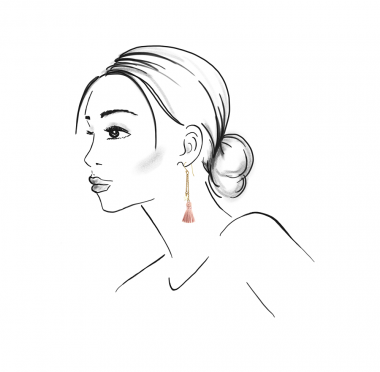 03-17002 polly earrings gold light pink_sketch